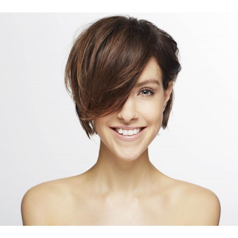 Farve ørekort hår (Helfarve)