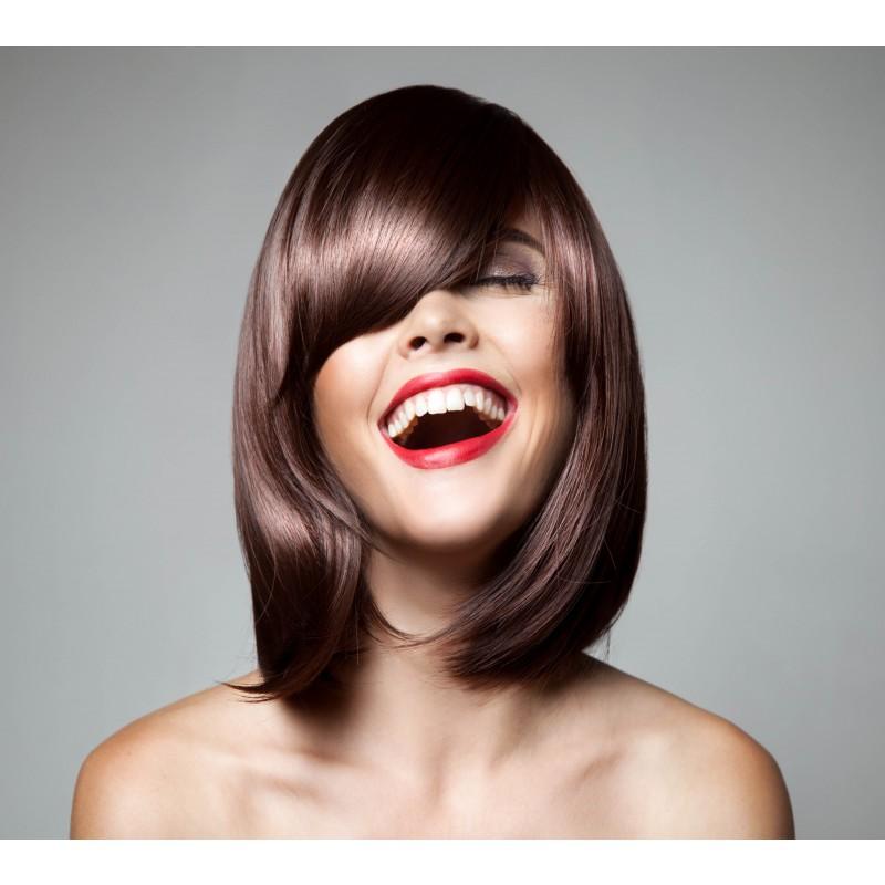 Farve kæbekort hår (Helfarve)