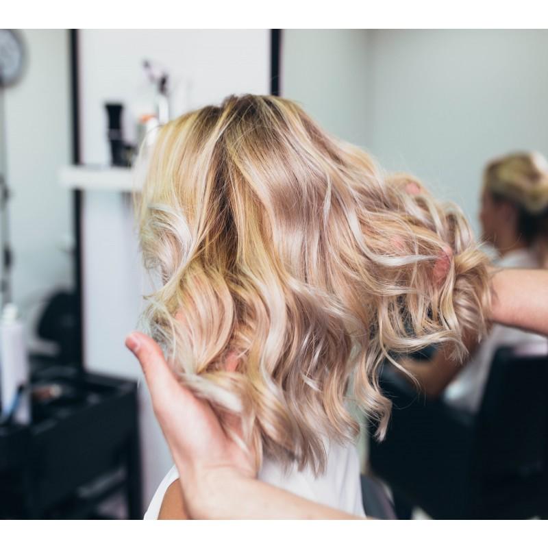 Reflekser skulderlangt hår