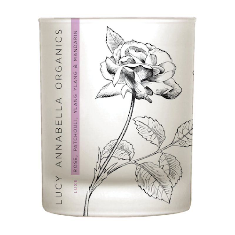 LUCY ANNABELLA Rose & ylangylang candle