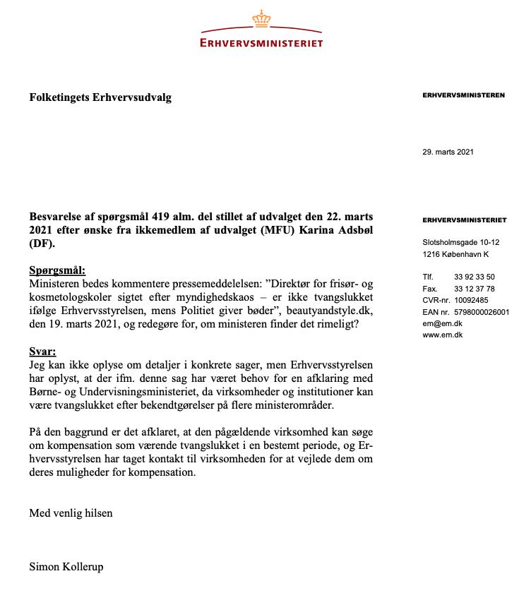 kompensation_erhvervsministeriet_1